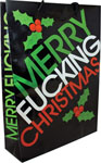 Merry Fucking Christams Gift Bag - Large