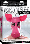 Pipedream Fetish Fantasy Extreme Lil Piggy Hood - Pink