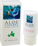 Aloe Cadabra Organic Lubricant - Peppermint Tingle 2.5 Oz Bottle