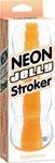 Neon Jelly Stroker - Orange