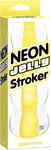 Neon Jelly Stroker - Yellow