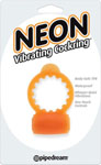 Neon Vibrating Cockring - Orange