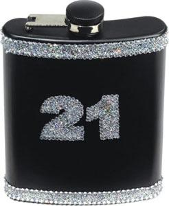 21 Birthday Flask