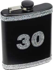 30 Birthday Flask
