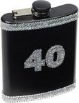 40 Birthday Flask