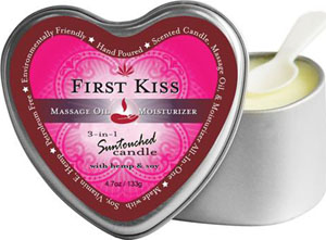 Earthly Body 3 In 1 Candle - 4.7 Oz First Kiss