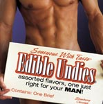 Men's Edible Undies - Strawberry Chocolate