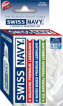 Swiss Navy Variety Box Of 12 Assorted Lubes - 5ml Packets