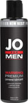 System JO Premium Silicone Warming Lubricant For Men - 4.25 oz