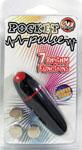 Pocket Pulse 7 Function Waterproof Bullet - Black