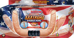 All American Whoppers Xxxtreme Vibrating & Bendable Double Dong - Flesh