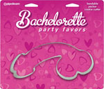 Bachelorette Party Favors Bendable Pecker Cookie Cutter