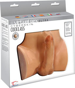 Cyberskin Virtual Sex Ultra Cock & Ass