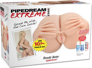 Pipedream Extreme Toyz Ready Betty