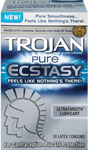 Trojan Pure Ecstasy Condoms - Box Of 10