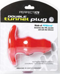 Perfect Fit Large Double Tunnel Plug - Red