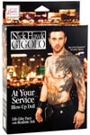 Nick Hawk Gigolo At Your Service Blow Up Doll - Ivory