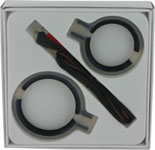 Zeus Electrosex Bi-Polar Silicone Erection Rings