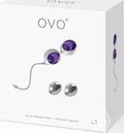 Ovo L1 Silicone Love Balls Waterproof White