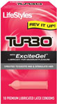Lifestyles Turbo Condoms - Box Of 10