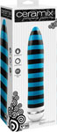Ceramix Pleasure Pottery Ultra Powerful Vibrator No. 10 - Black/Blue