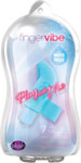 Blush Play With Me Finger Vibe - Blue