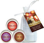 Earthly Body 2013 Holiday Candle Trio Gift