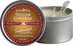 Earthly Body 3 In 1 Candle - 6.8 Oz Candy Sugar Cookie