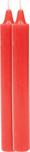 Fashionistas Pleasure/Pain Candles - 2- Pack Red