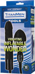 Titanmen Inflatable Wonder Vibrating - Black
