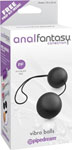 Anal Fantasy Collection Vibro Balls - Black