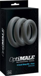 Optimale 3 C-Ring Set Thick - Slate