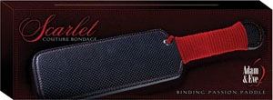 Adam & Eve Scarlet Couture Binding Passion Paddle