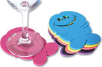 Bachelorette Pecker Drink Coasters
