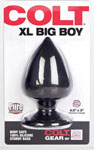 Colt Xl Big Boy Butt Plug - Black