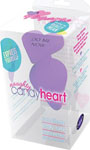 Blush Naughty Candy Heart Do Me Now Plug - Purple