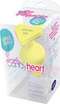 Blush Naughty Candy Heart Spank Me Plug - Yellow