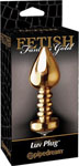 Fetish Fantasy Gold Luv Plug - Gold