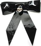 Stockroom Leather Bow Wrist Restraint - Bulk Black