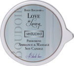 Love In Luxury Soy Massage Candle - 6 Oz Black Lace