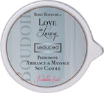 Love In Luxury Soy Massage Candle - 6 Oz Forbidden Fruit