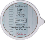 Love In Luxury Soy Massage Candle - 6 Oz Seductive Rose