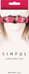 Ns Novelties Sinful O Ring Mouth Gag - Red