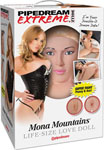 Pipedream Extreme Dollz Life Size Inflatable Love Doll - Mona Mountains