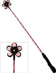Ruff Doggie Flower Crop - Pink