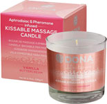 Dona Kissable Massage Candle - 4.75 Oz Vanilla Buttercream