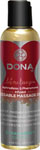 Dona Kissable Massage Oil - 4 Oz Strawberry Souffle