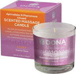 Dona Scented Massage Candle Sassy - 4.75 Oz