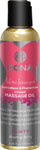 Dona Scented Massage Oil Flirty - 4 Oz Blushing Berry
