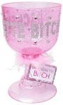 Bachelorette Bitch Pimp Cup Pink